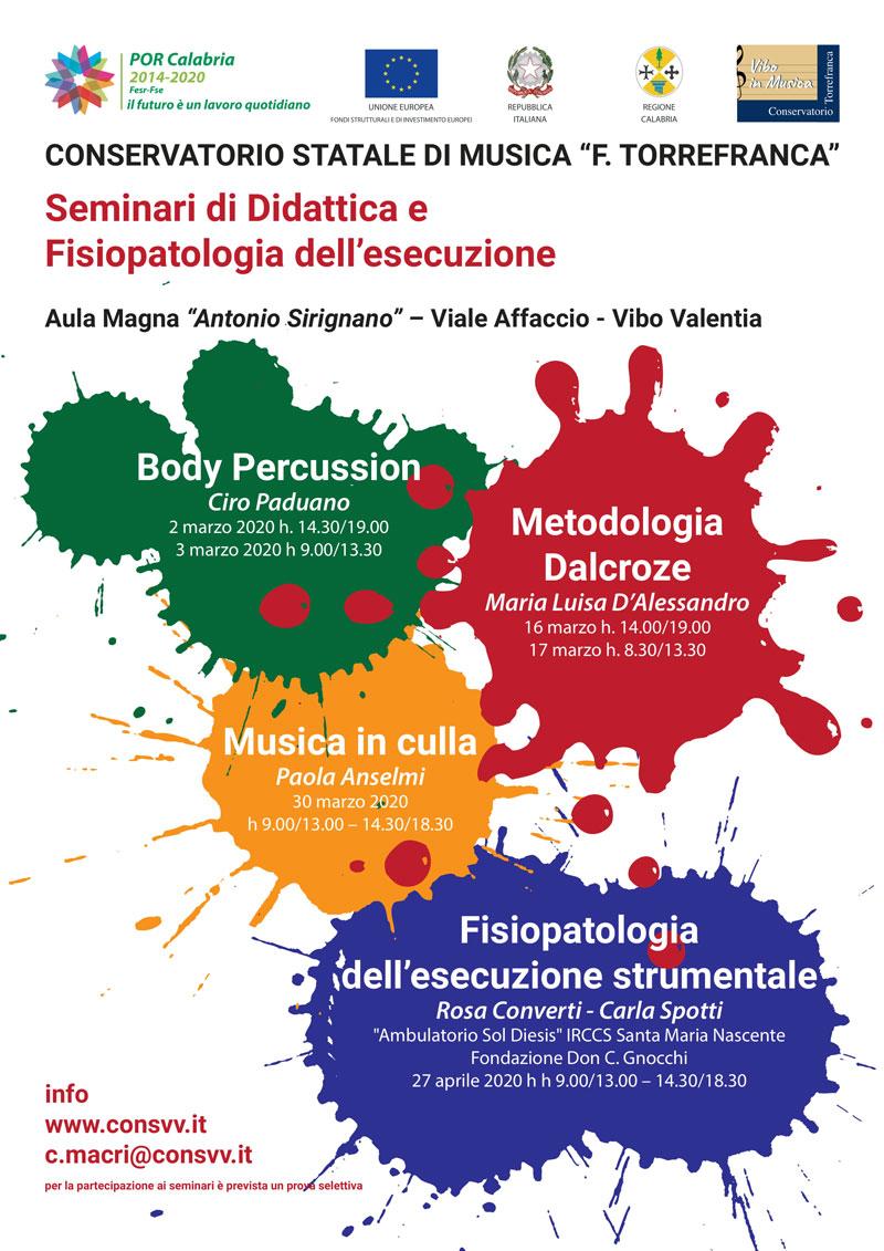 Seminari di Didattica e Fisiopatologia dell'esecuzione